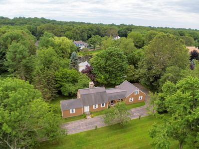 Privacy Counts, 3200 SF. Home, 1800 SF. Patio, 1.5 acres land plus the pond