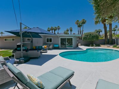 Photo for Mid Century Modern Home, heated private pool,  Mt. Views,  Pool Fees Included