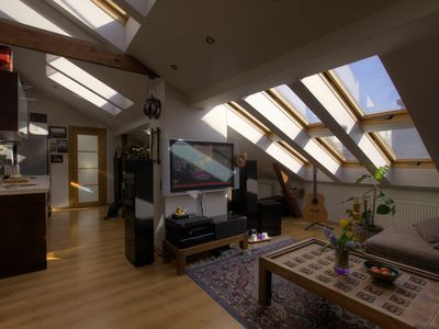 Cozy Loft With Roof Terrace
