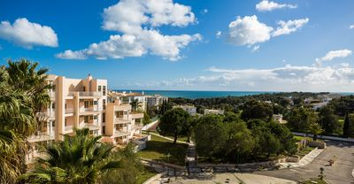 Photo for Vau Seaview Apartment T1 near the beach and golf course