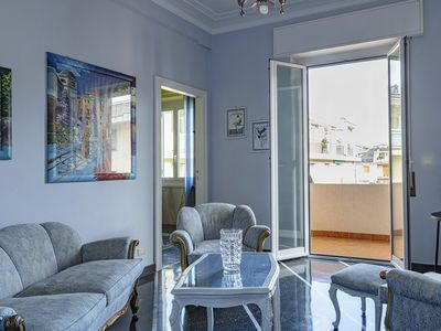 Photo for Large Family Apartment in the center of Rapallo