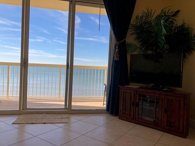 Photo for Direct beachfront! 8th Floor Condo with incredible beach front ocean view!