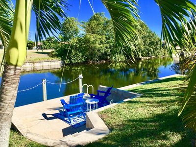 Photo for Paradise Retreat, Pool, Freshwater Canal, Dock, WIFI, Golfing, Beaches