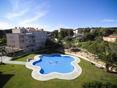 Photo for ROMANA with communal pool, beach at 400m