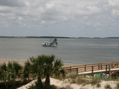 Photo for Sandpiper - Beautiful 2nd floor beach front view