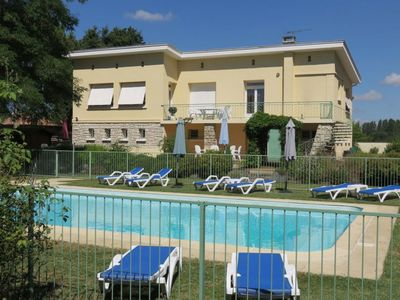 Photo for Spacious, Light & Airy Apartment With WiFi, Heated Pool, Secure Garden & River