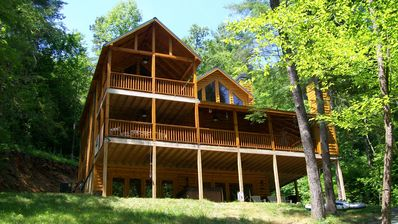 Photo for GORGEOUS CABIN on MOUNTAINTOWN RIVER in COOSAWATTEE