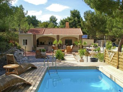 Photo for Rural villa offering real peace and quiet with private swimming pool, on the Costa Blanca