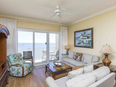 Photo for Beachfront Condo with Private Balcony and Unbeatable Views. Beachfront Pool and Easy Beach Access!