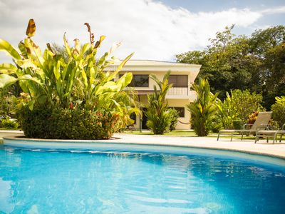 Photo for 2BR 2BA, Comfortable Vacation Home, Tropical Garden and Pool View