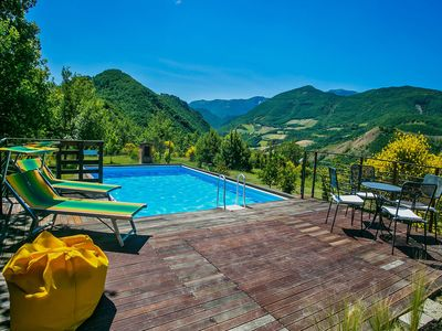 Photo for Modern Villa in Acqualagna with Pool