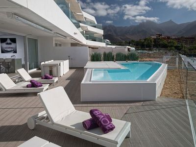 Photo for PRIVATE Pool + Hot Tub! Luxury Island Retreat with FREE Breakfast + Wi-Fi