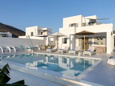 Photo for Elitas Villa A, with 2 bedrooms and private pool close to Parikia
