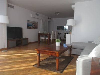 Photo for Spacious apartment on the beach, FREE WIFI FIBER, wonderful views, Playamar