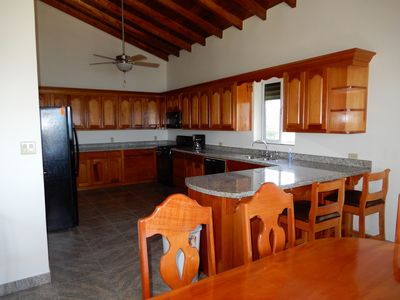 large kitchen for you and your friends and family