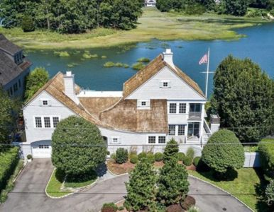 Photo for Waterfront home in heart of Rowayton with dock and beach access
