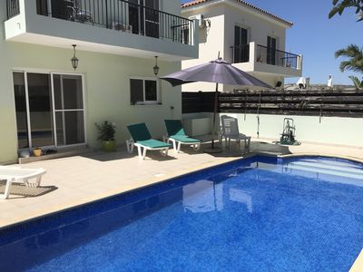 Photo for Great 3 bedroom house with pool