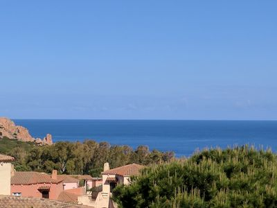 Photo for Panoramic Sea Views Apartment, Walk to Beach in Just 7 mins