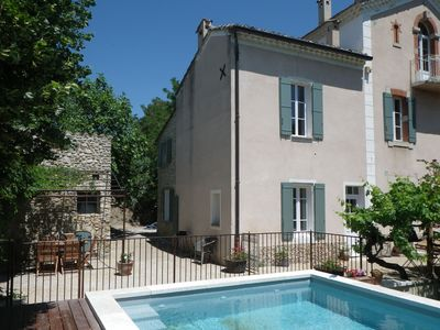 Photo for House Vaison la Romaine center in a quiet location with pool