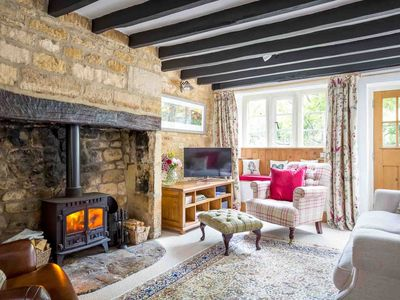 Photo for Primrose Cottage is a charming Cotswold cottage, alongside a brook, close to the heart of Blockley