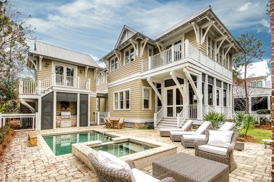 Incredible Watercolor home loaded with amenities