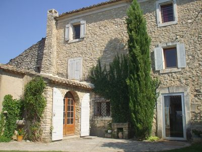 Photo for Mas, typical Provencal 18th country house located in Luberon in Provence