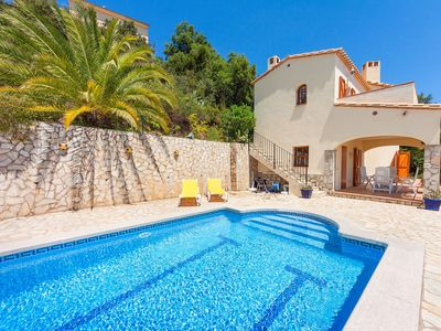 Photo for Stunning private villa with WIFI, private pool, TV, washing machine and parking