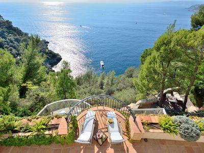 Photo for Beautiful, Private Villa With Stunning Views And Private Access To The Sea