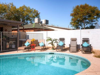 Old town 8bed 2.5ba heated** pool and hot tub! Casita also available!!