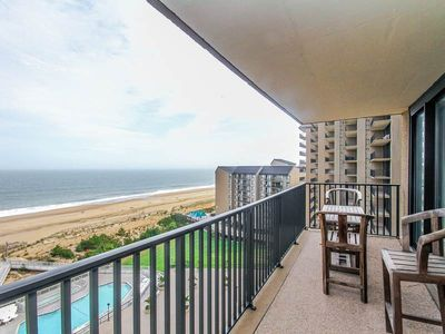 Photo for 1003N: 2BR Sea Colony Oceanfront Condo! Private beach, pools, tennis ...