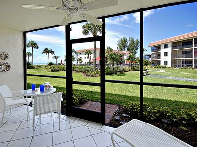 Photo for Sandalfoot 4B1 BEACHY AND COZY first floor unit with walk out access to the courtyard, pool and boardwalk!