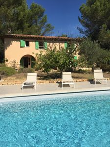 Photo for Provencal farmhouse view Sainte-Victoire for 8 people - Aix-en-Provence countryside