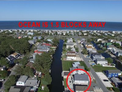 5 Bedroom 3 Bath home on the Canal in South Bethany only 1.5 blocks to the beach