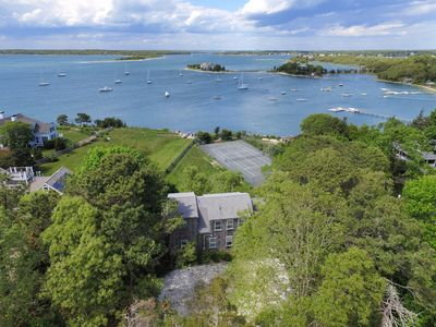 Photo for Waterfront: weeks available! Dock~Views of Cove~tennis court