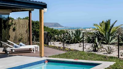 Photo for Willow Beach House right on the sand dunes of Noordhoek's Long Beach