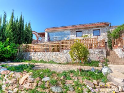 Photo for This 3-bedroom villa for up to 7 guests is located in Tossa De Mar and has a private swimming pool a