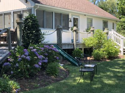 Photo for Charming North Side Oasis 3 Blocks from Mayflower & Bayview Beaches