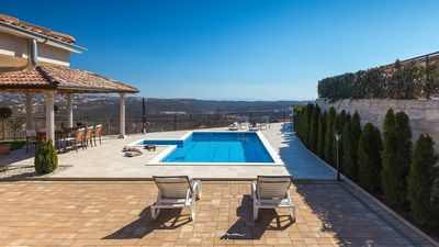 Photo for Gorgeous villa with private pool near Opatija