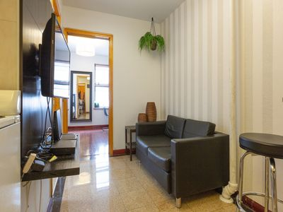 Photo for Sunny 2 Bedroom furnished Apartment  , Center of Little Italy  - Two Bedroom Apartment, Sleeps 4