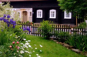 Historical Umgebindehaus to feel Zittau Mountains in the nature park