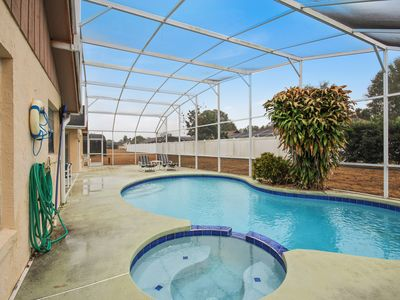 Photo for Cozy 3 Bedroom 2 Bath Pool home less than 4 miles to Disney World (2157)