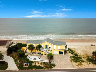 Photo for Oceanfront home w/ boardwalk, kitchenette, outdoor spaces close to downtown!