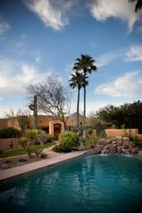Photo for BEAUTIFUL VIEWS! Resort-Like Guest house on 5 acres in North Scottsdale