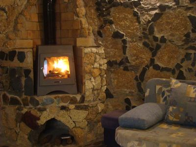 Photo for Finca - Bio-Finca with fireplace and view