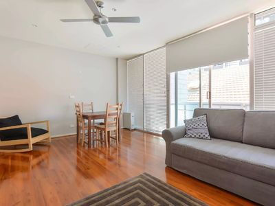 Photo for Spacious 1 Bedroom Apartment at Victoria Market doorstep