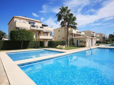 Photo for Atico Bassetes apartment in Dénia with WiFi, private parking & private roof terrace.