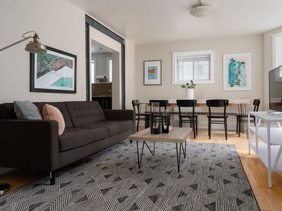 Photo for Sonder | Lincoln Apartments | Cozy 5BR + Laundry