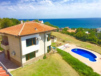 Photo for Varna 3 bed Sea View Pool Sat T.V WI-FI A/C Stunning Sea Views Amazing place!