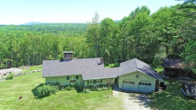 Photo for Large Secluded home with Mountain Views. Close to Skiing, Snowmobile, Hiking
