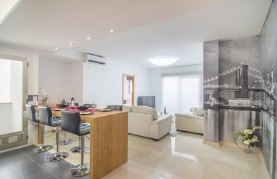 Photo for COSTA BLANCA, Apartment in Altea city, 50 m from the sea
